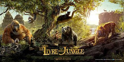 affiche Le Livre de la Jungle de Jon Favreau