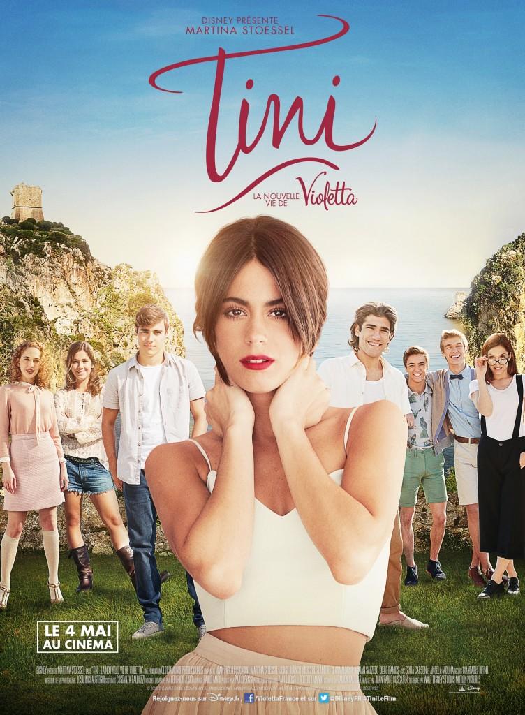 Affiche française du film Tini, la nouvelle vie de Violetta