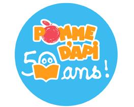 Logo 50 ans pomme dapi
