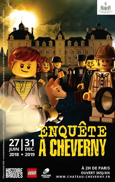 Enquête à Cheverny Lego