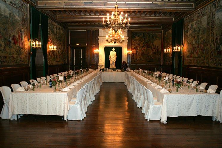 Chateau de Pau salle des cent couverts
