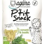 P'tit Snack, des biscuits apéritifs bio et sans gluten