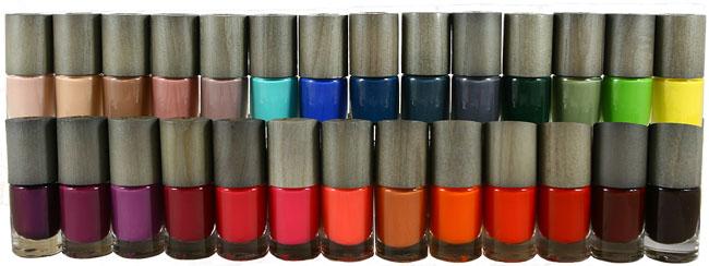 Vernis à ongles naturels bo-ho, palette de 36 couleurs