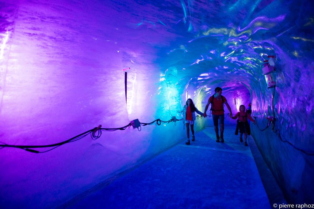 Grotte Mer de Glace Chamonix ©P. Raphoz photographie