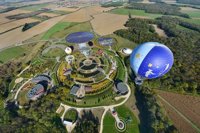 parc du petit prince vue aérienne