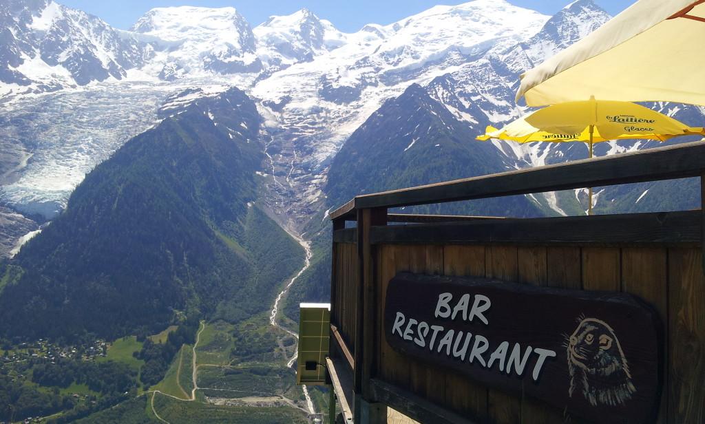 Restaurant Le Balcon de Merlet aux Houches