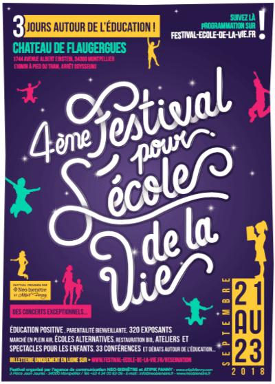 festival pour l'école de la vie montpellier