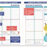 Mon Agenda Malin, un premier agenda scolaire pour les primaires