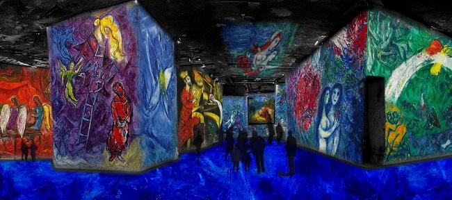 Carrières de lumière Chagall - cdts ADAGP Paris 2016 - Gianfranco Lannuzzi (3)