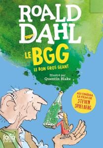 Le-BGG-le-bon-gros-geant-roman-Roald-Dalh-Folio-Junior