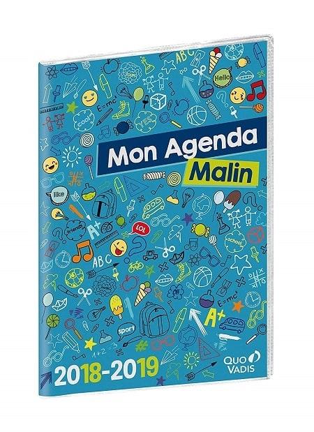 agenda scolaire Quo Vadis