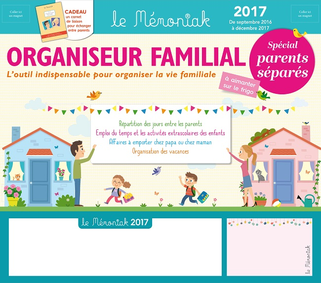 calendrier vacances parents separes