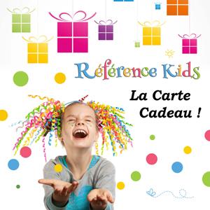 Carte cadeau Référence Kids, garde d'enfants à domicile
