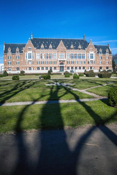 France. Lens, Pas-de-Calais.2008 Les Grands Bureaux de la Compagnie des Mines de Lens, maintenant faculté des sciences J. Perrin de l'université d'Artois.