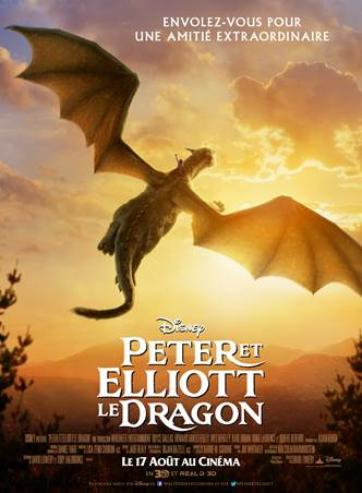 affiche-Peter-et-Elliott-le-Dragon