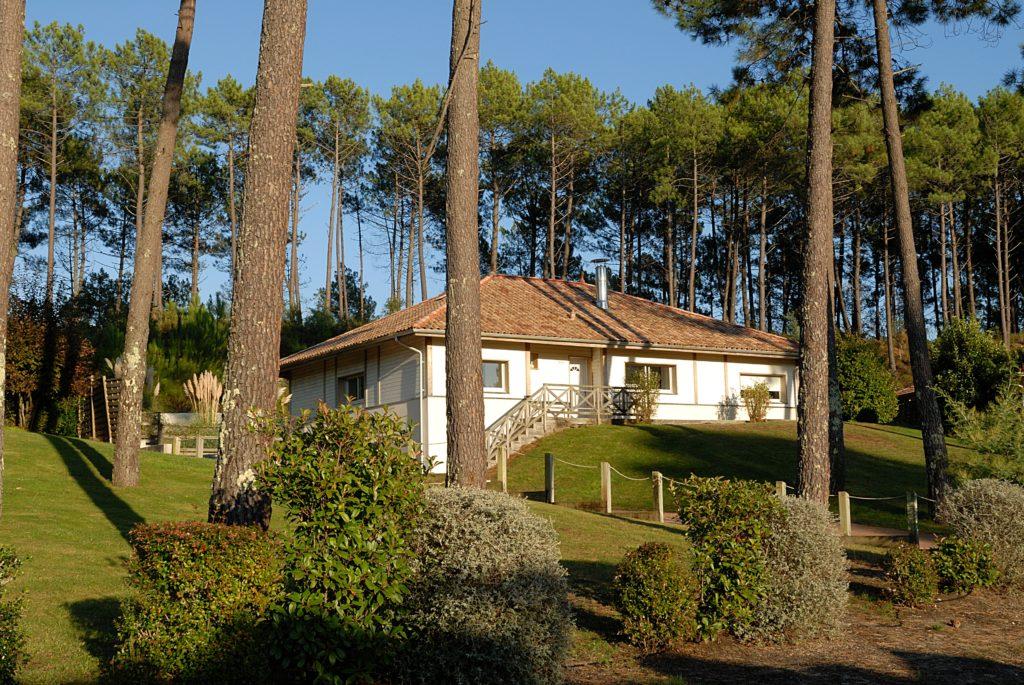 Extérieur villa Madame Vacances La Clairière aux Chevreuils de Moliets