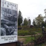 Le Linge, champ de bataille de la guerre 14-18 dans le Massif des Vosges