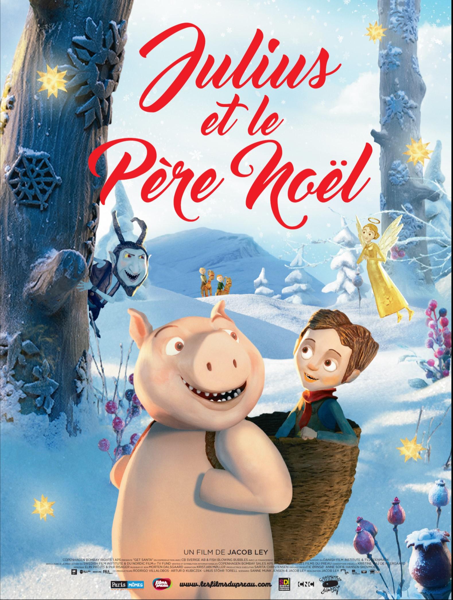 Julius Et Le Père Noël Un Joli Film Pour Les Tout Petits