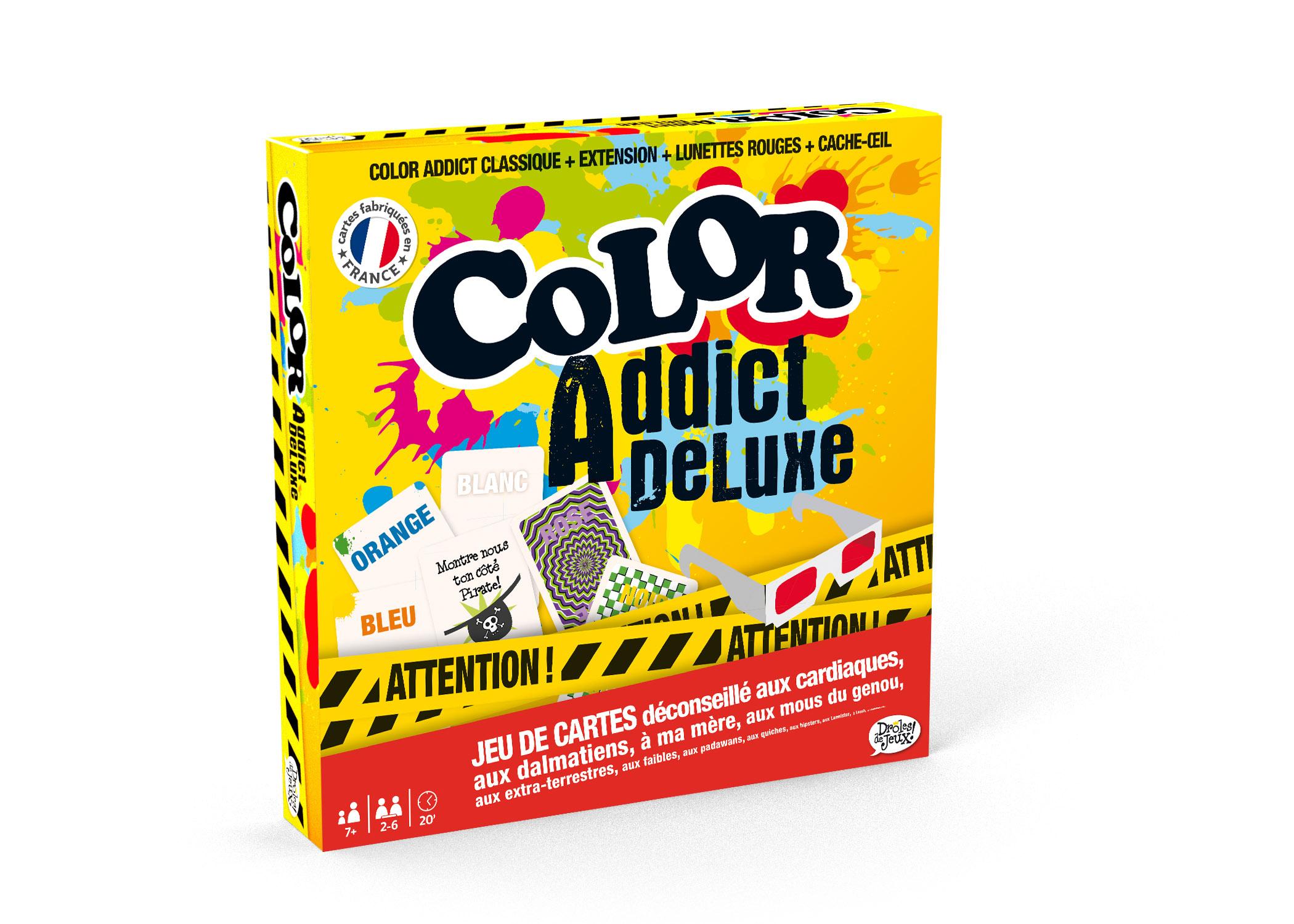 Jeu Color Addict De Luxe de Carta Mundi