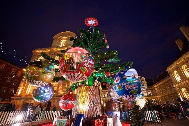 manège marché de Noël Amiens