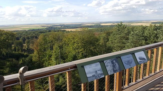 vue de la Tour Mangin