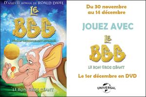 DVD Le BGG