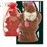 On a craqué pour le Père Noël en chocolat équitable Alex Olivier !