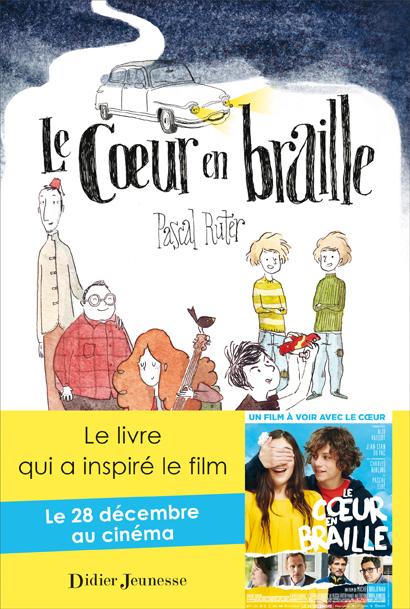 Couverture Le coeur en braille de Pascal Ruter chez Didier Jeunesse