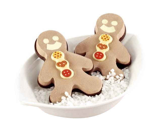 Bonhommes de Noël glacés Tourpagel