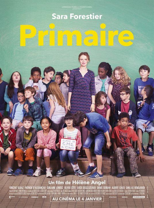 Affiche du film Primaire avec Sara Forestier, au cinéma le 4 janvier 2017