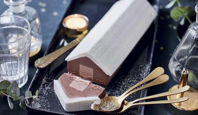 bûche aux 3 chocolats Picard