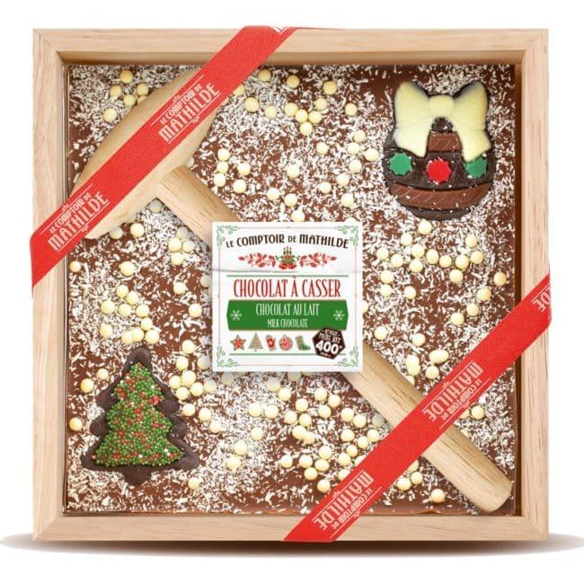 chocolat à casser Noël Comptoir de Mathilde