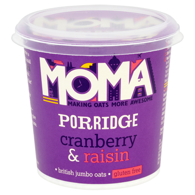 Moma-porridge-cranberry-raisins