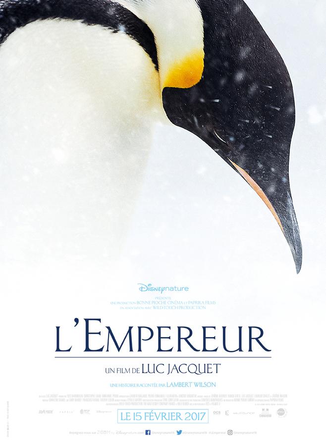 Affiche du film L'Empereur de Luc Jacquet