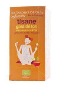 Gaïa Detox, tisane bien-être 100 % bio