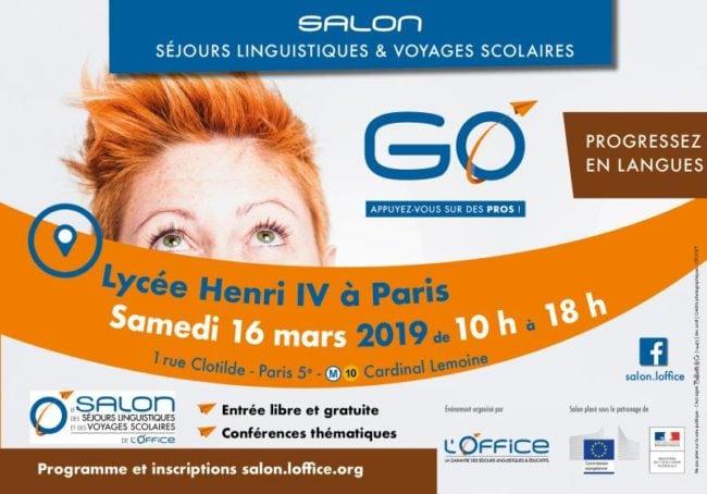 salon des séjours linguistiques 2019