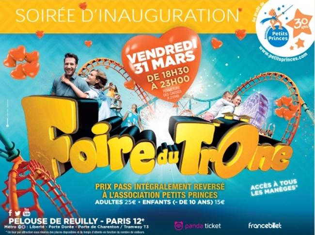 Affiche-Foire-du-trone-30ans-association-Petits-Princes