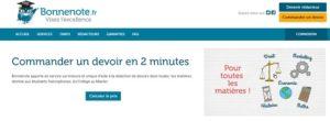 Bonnenote.fr : quelles sanctions risquent les élèves ?