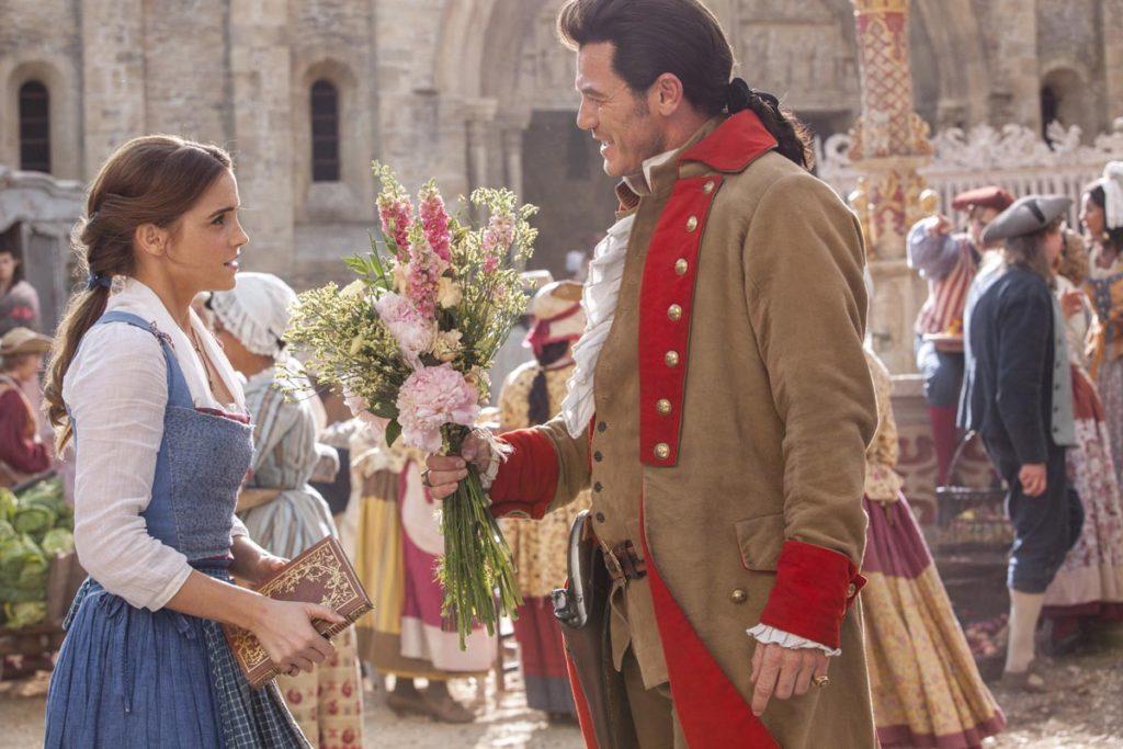 Belle et Gaston dans La Belle et la Bête de Disney version 2017