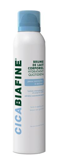 Spray de Brume de lait corporel hydratant quotidien Cicabiafine