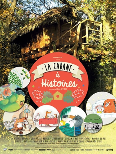 Affiche du film La cabane à histoires
