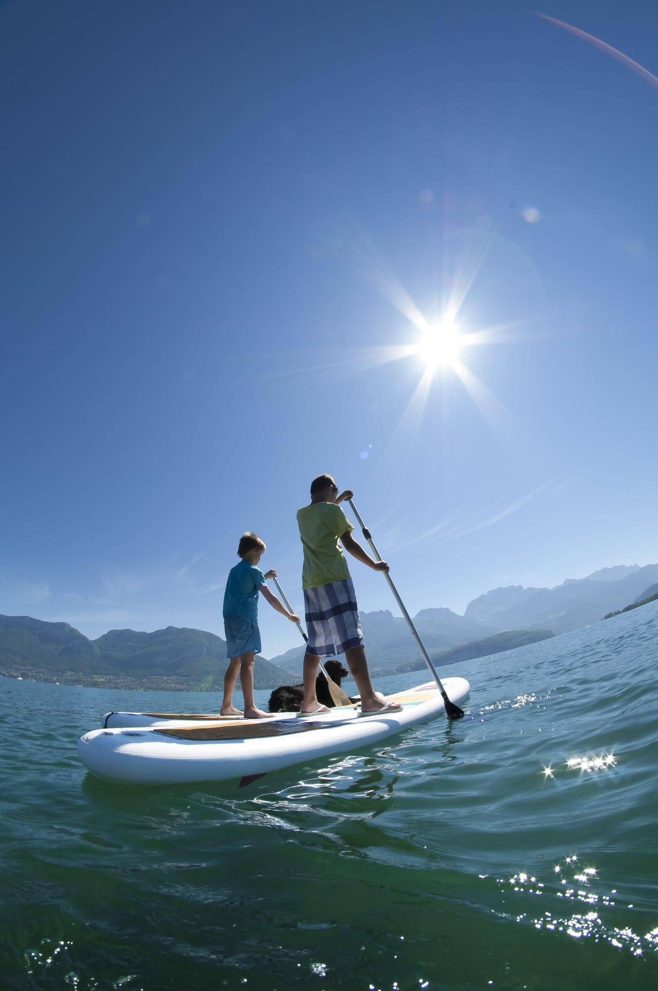 Initiation au paddle pour les ados