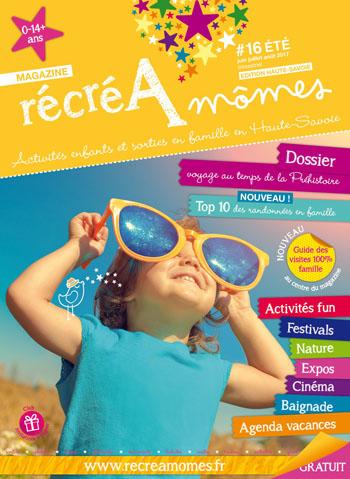 RécréAmômes, couverture été 2017