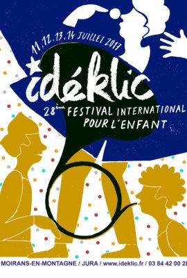 Affiche festival enfant Idéklic 2017