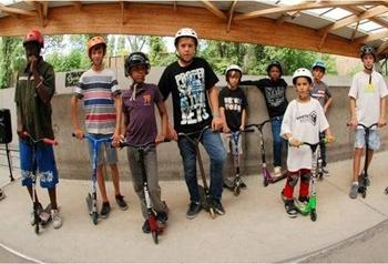 Activité trottinette pour anniversaire enfant à Paris