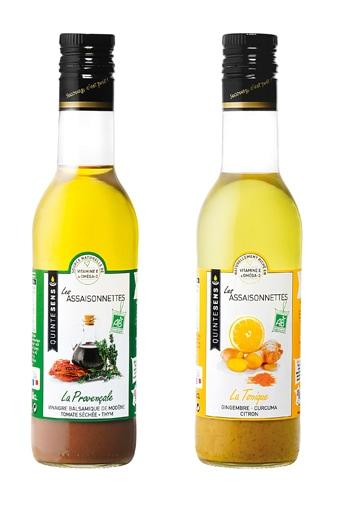 Vinaigrettes Les Assaisonnettes Quintesens