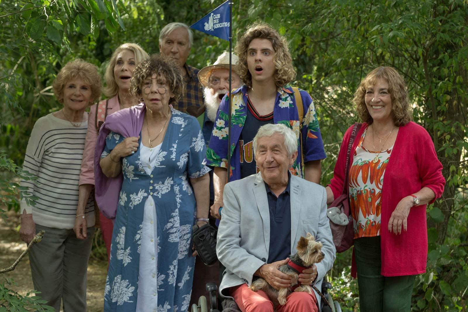L'équipe de joyeux retraités de Sales Gosses