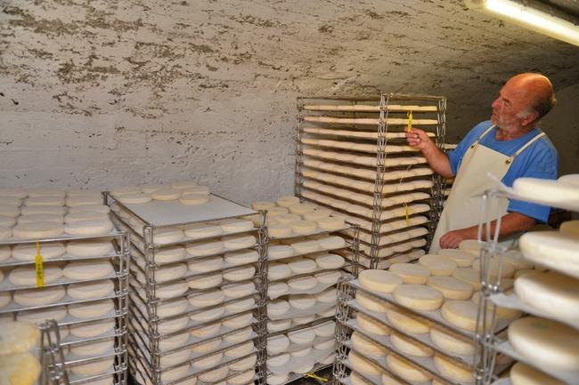Visite d'une fabrique de reblochon en ferme d'alpage, au Val d'Arly
