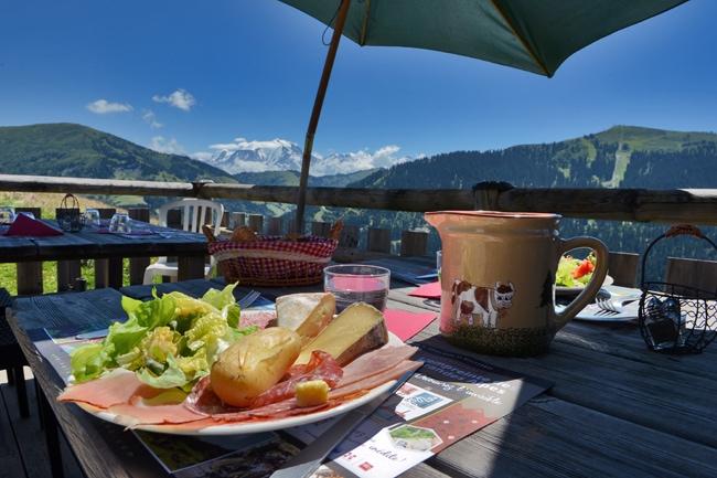 Le Mégévan, restaurant d'alpages du Val d'Arly