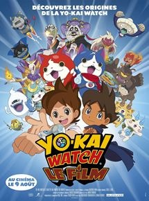 Affiche Yo-Kai Watch, le film